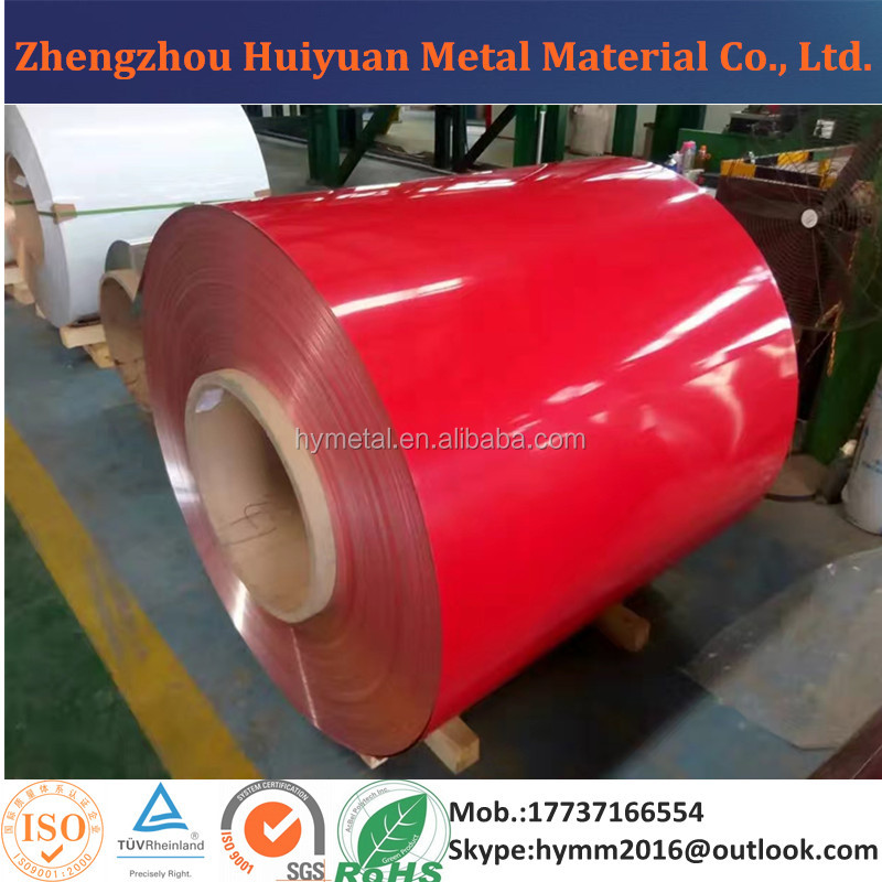 2017 Factory Price Color Coated Aluminum Coil for Ceiling Sheet