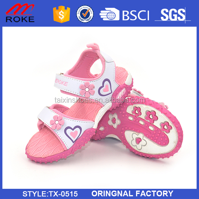 New beautiful flower slippers for kids
