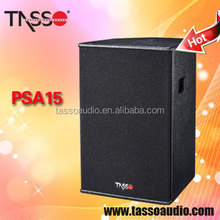 Guangzhou conference system 15 inch powered loud speakers