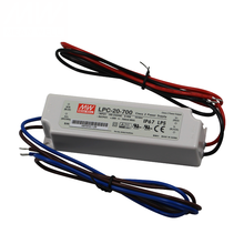 Mean Well 20W 700mA Konstan Saat Ini 30V LED Driver <span class=keywords><strong>LPC</strong></span>-20-700 <span class=keywords><strong>Meanwell</strong></span> Supply