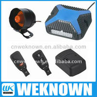 High quality 12/24v cheap car alarm system
