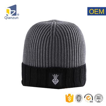 92c3971ea 100 Cotton Acrylic Spring Fall Boy Youth Men Winter Knitted Beanie Hat Ski  Cap - Buy Men Beanie Hat,Winter Knitted Beanie Hat Product on Alibaba.com