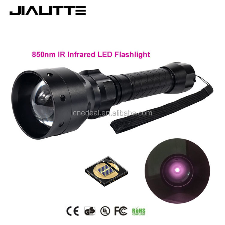 Jialitte F068 Tactical IR 50ミリメートルLens Infrared Flashlight Night Vision Torch LightためNight Vision Device