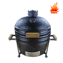 Draagbare 16 inch <span class=keywords><strong>Kamado</strong></span> <span class=keywords><strong>BBQ</strong></span> Houtskool Grill/Barbeque Grill Houtskool