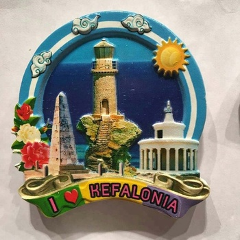 Hot Sale Tourist Souvenir Factory Outlet Making Machine Custom Polyresin Fridge Magnet