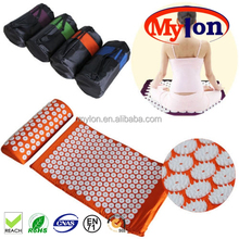 high quailty acupressure mat and pillow set combo relieve back pain