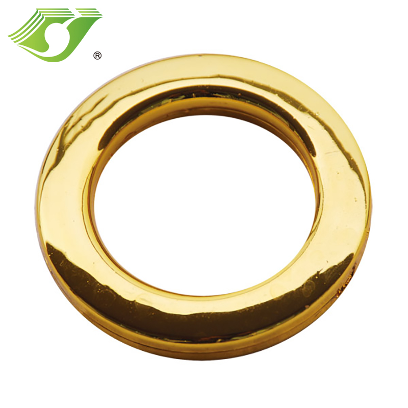 Design fashion competitive price high quality plastic curtain ring wholesale