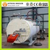Fire Tube WNS Series 1 t h Natural Gas / Heavy Oil fired Steam Boiler Prices