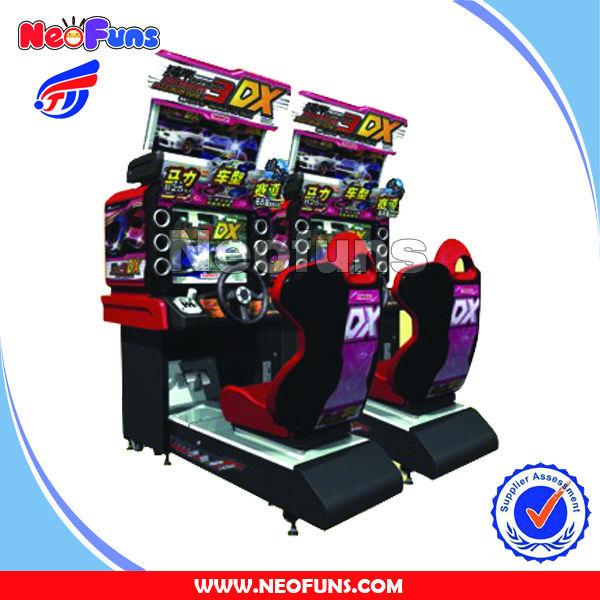 Nascar Simulate Coin Operated Arcade Car Racing Game Machine