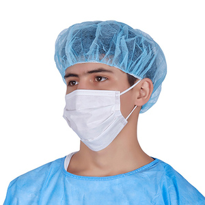 White Blue Green Pink Color Earloop Non-woven Medical Surgical 3 Ply Disposable Face Mask