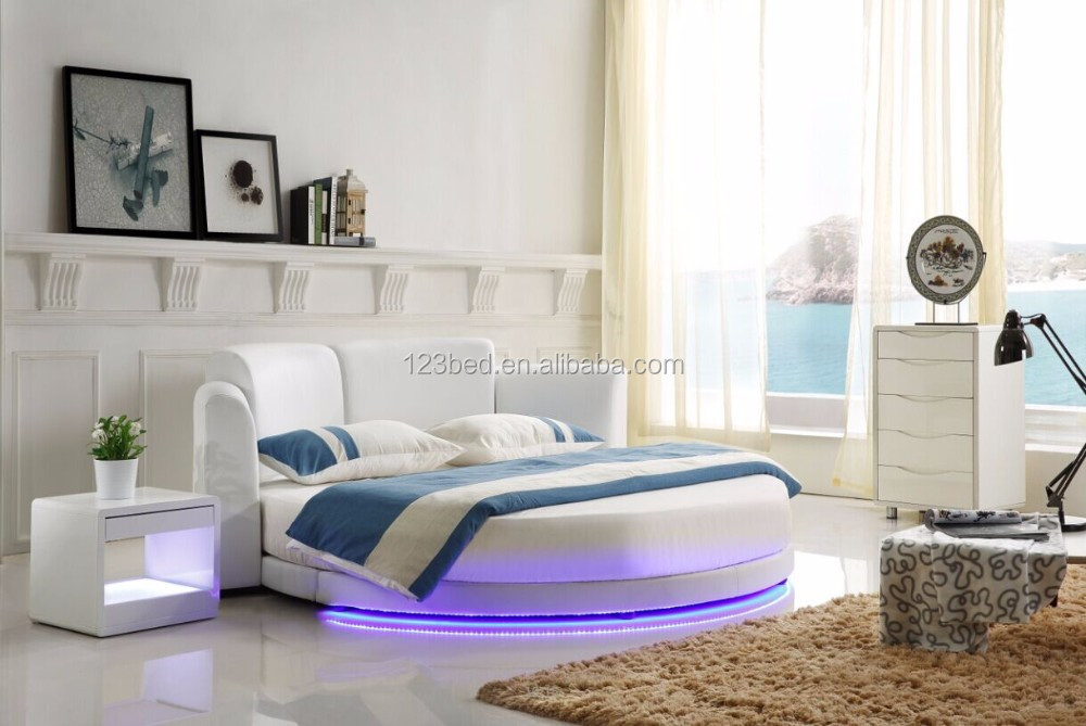 Hot koop modern interieur slaapkamer c016 buy product on - Modern bed volwassen ...
