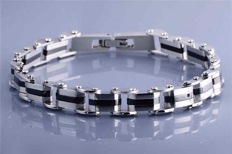 2019 Fashion Bicycle Chain 316L Stainless Steel Bracelet