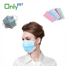 1ply/2ply/3ply scented disposable medical face mask black in good market