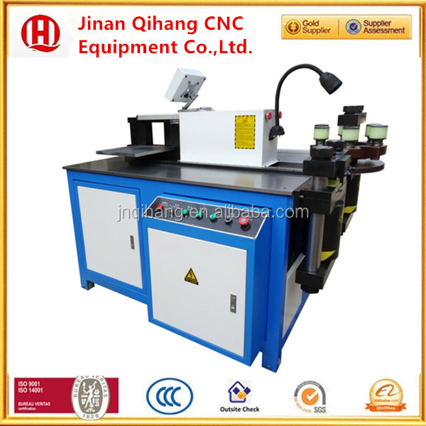 Qihang Three in One CNC Hydraulic Busbar Bending Machine cut down 30% factory sale directly