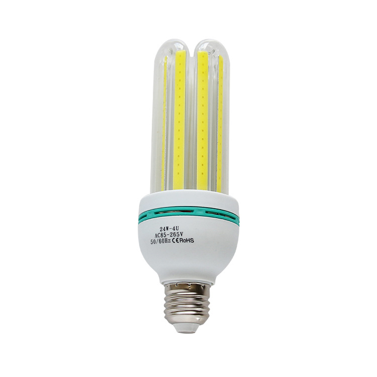 Free Sample Manufacturing High lumen energy saving 24/30/36W U shape and Spiral shape Corn Light
