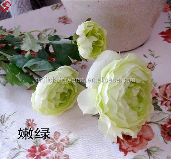Artificial Silk Wedding Flower Ranunculus,Artificial Handmade ...