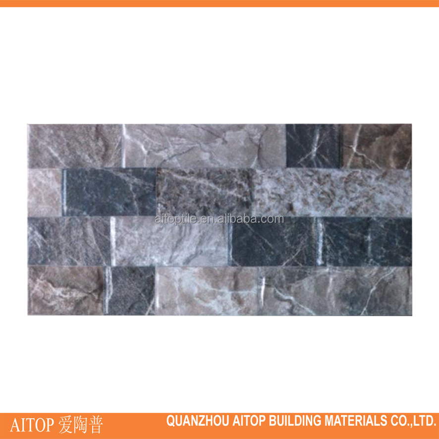 Ceramic inkjet matte finish composite tile