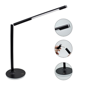 Modern Table Light With DC Structure Dimmable Bedside Lamp Desk Led Lamp Including With USB Charger Line