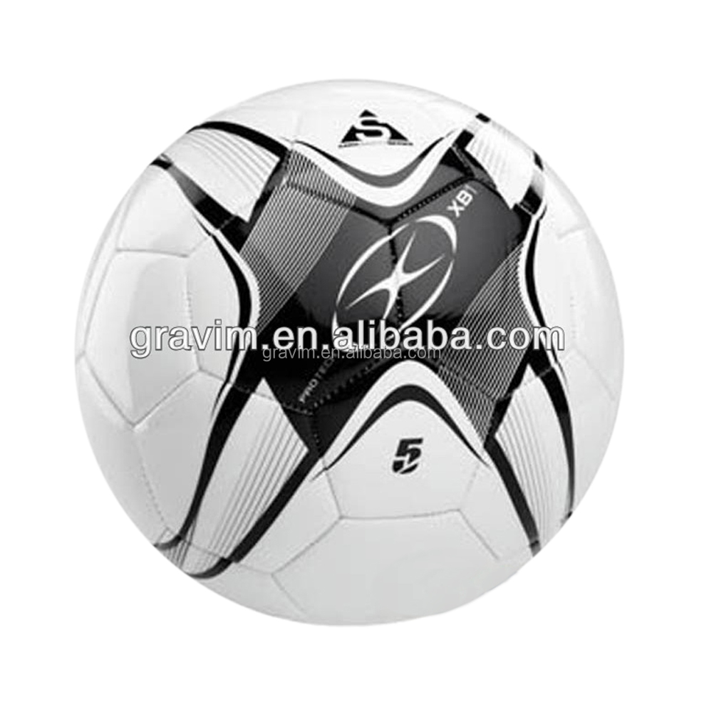 5# high quality professional customized bulk proceed machine sewed PVC soccer <strong>ball</strong>