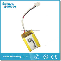 Iec 62133 Approved 3.7v 250mah Lithium Polymer Battery Ft502030p ...
