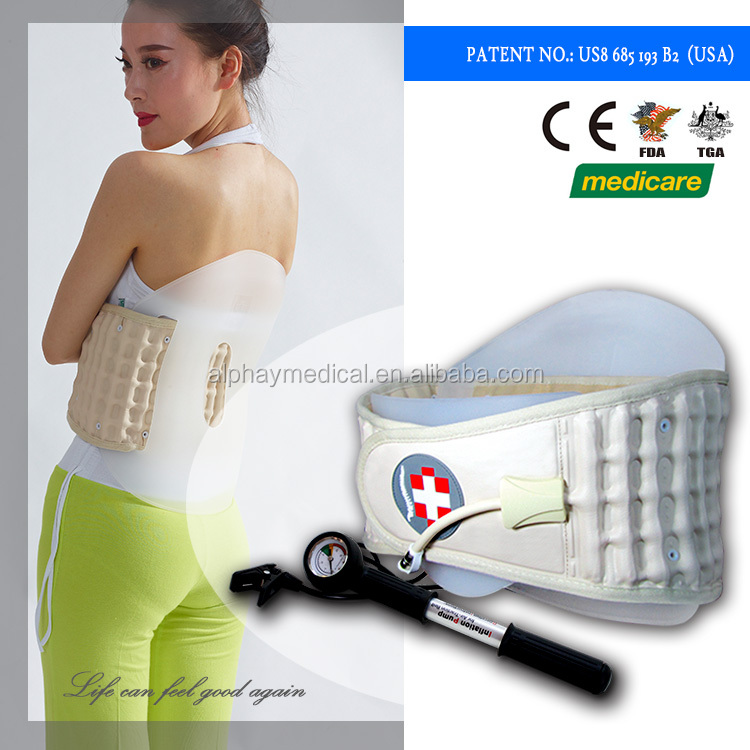 USA Medicare YQAH-3 Orthopedic back brace support upper back support belt for back pain relief