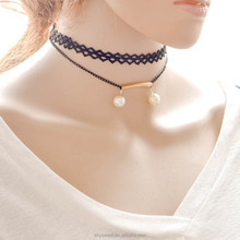 double pearl setting trendy neck collar design of ladies suits(SWTJU3179)
