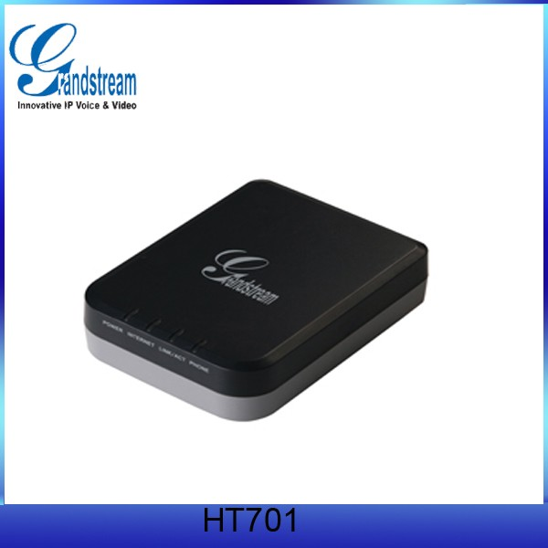 Cheap1 FXS Analog 10/100 Mbps Grandstream HT701 GSM Gateway