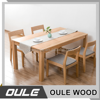 Hot S Modern Oak Wooden Folding Dining Table With Moderate Price