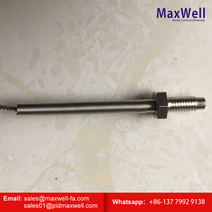 stainless steel protection tube j type m6 screw thermocouple for electric furnace