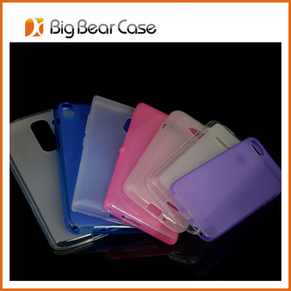 TPU back cover case cheap cell phone case for htc desire 800 816