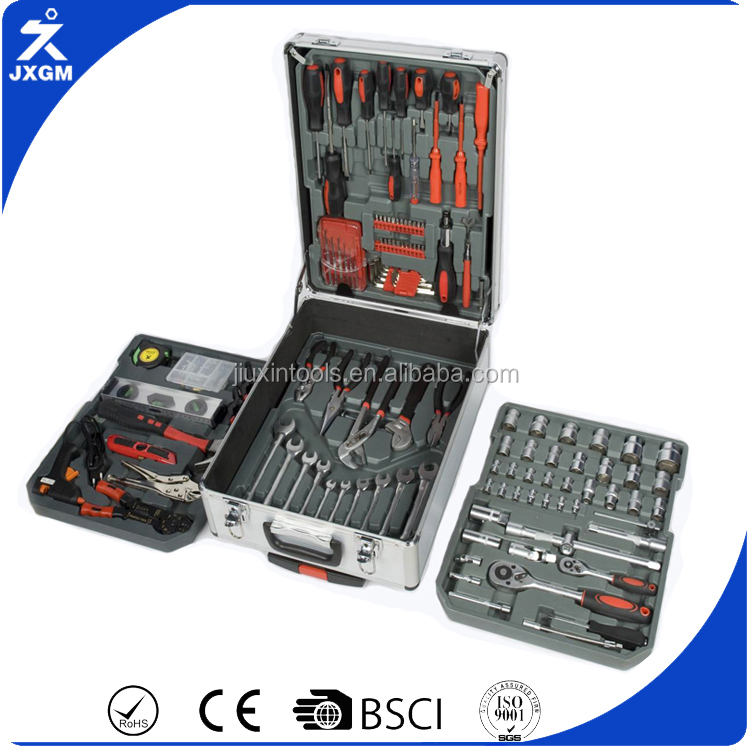 hand tool set 186 pcs swiss kraft tool set germany tool set 186-Piece Vanadium Tool Set