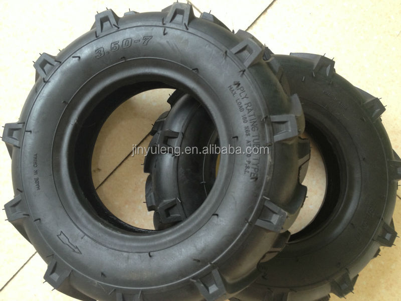 13inch 3.50-7 small herringbone rubber Pneumatic tractor tire for Farming machine Micro tillage machine Agricultural machinery