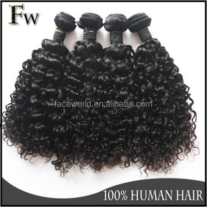 Jerry curl hair relaxers virgin brazilian remy human hair for black women vagina