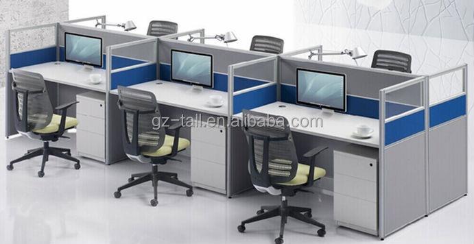 Venta al por mayor moderna cub culo de oficina estaci n de for Centro de trabajo oficina