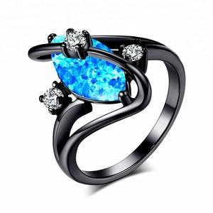 Opal Hot Horse Eye Diamond Opel Ring Mota Smart Ring