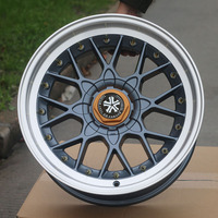 Manufacture new design hot selling 17'' cast alloy wheel rim on sale