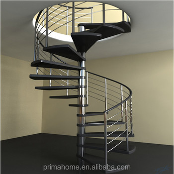 Residential Indoor Steps Used Spiral Staircase Price