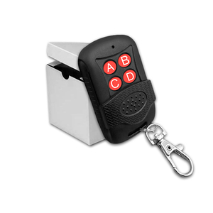 Promotion price 4 Button Universal Multi Frequency Garage Door Opener Remote Control Duplicator AG037