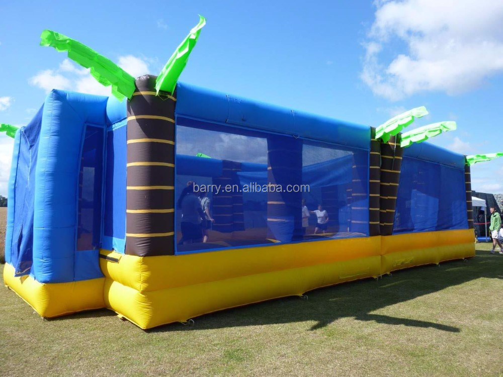 Inflatable Beach Volleyball Field for adult, Inflatable Ball Game for outdoor