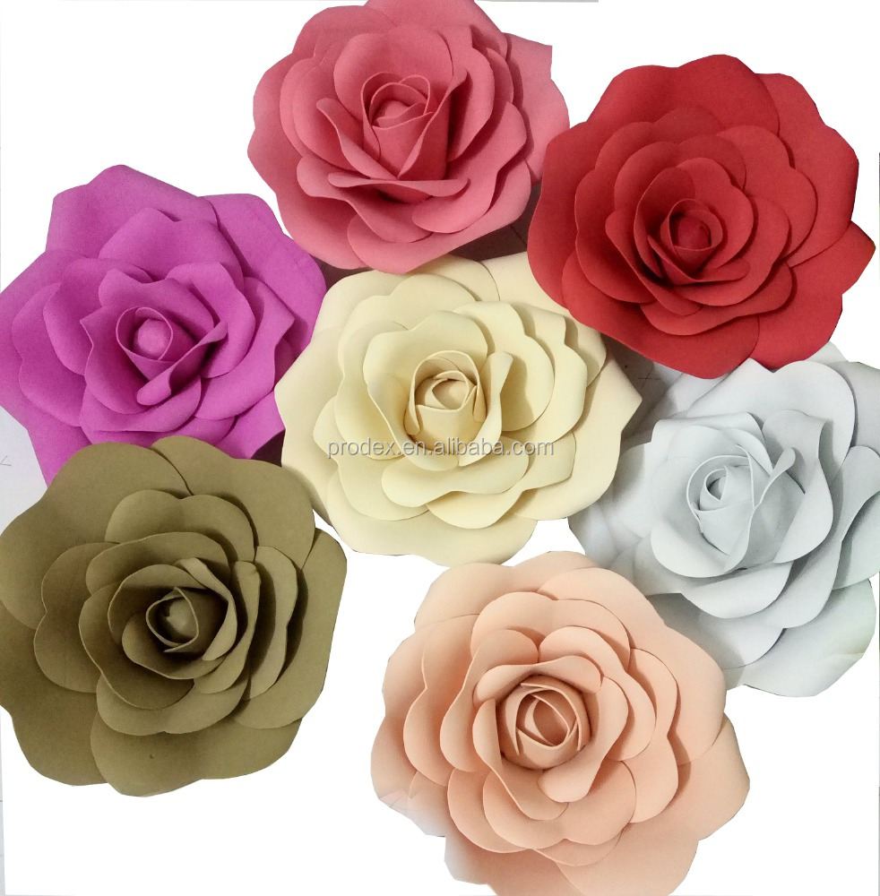 Giant Paper Flowers Wedding Flower Wall Buy Paper Wall Hanging