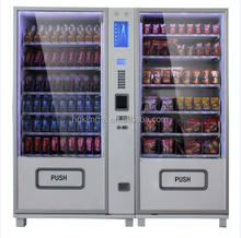 Factory combination vending machine for wine and pisco with two cabinet