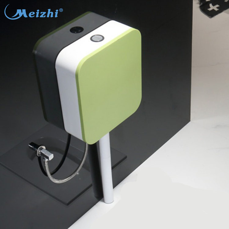 Color plastic toilet flush water tank from china factory