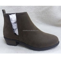 China top sale guaranteed quality fashion classy lady casual shoe ankle boots