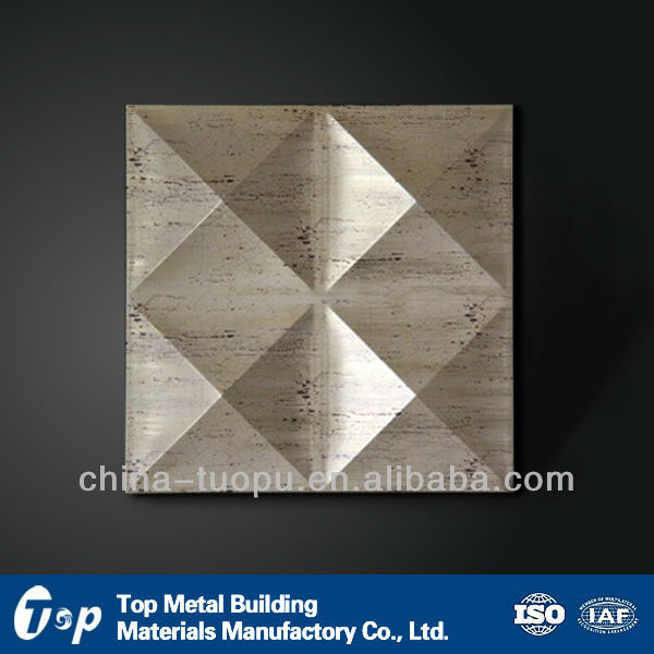 tin ceiling panel&aluminum ceiling Tiles,lay-in,mirror