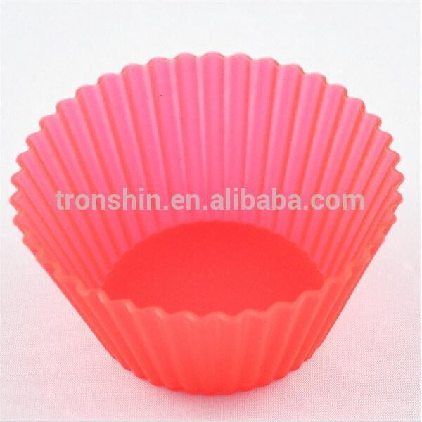 Re- usable Kitchen Baking Molds,Silicone Cupcake Liners ,Square Muffin Cups
