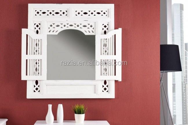 Holzrahmen Wand Deko Fenster Spiegel Produkt Id 60190063839