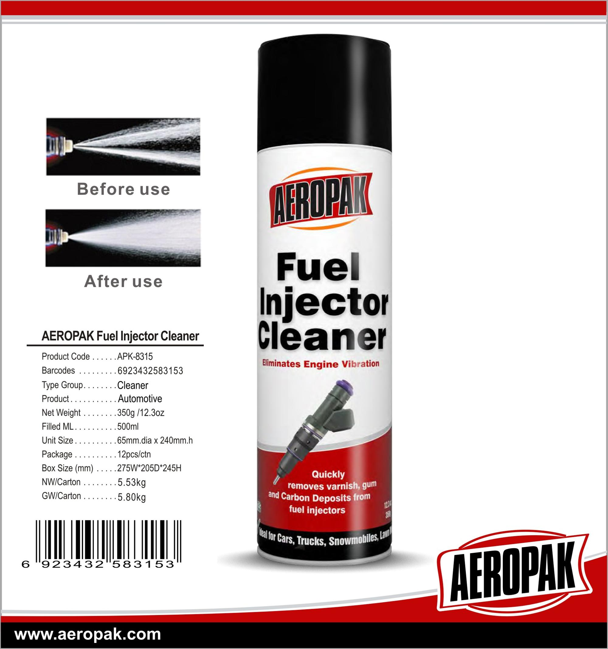 Car care products oem Car fuel injector cleaner spray