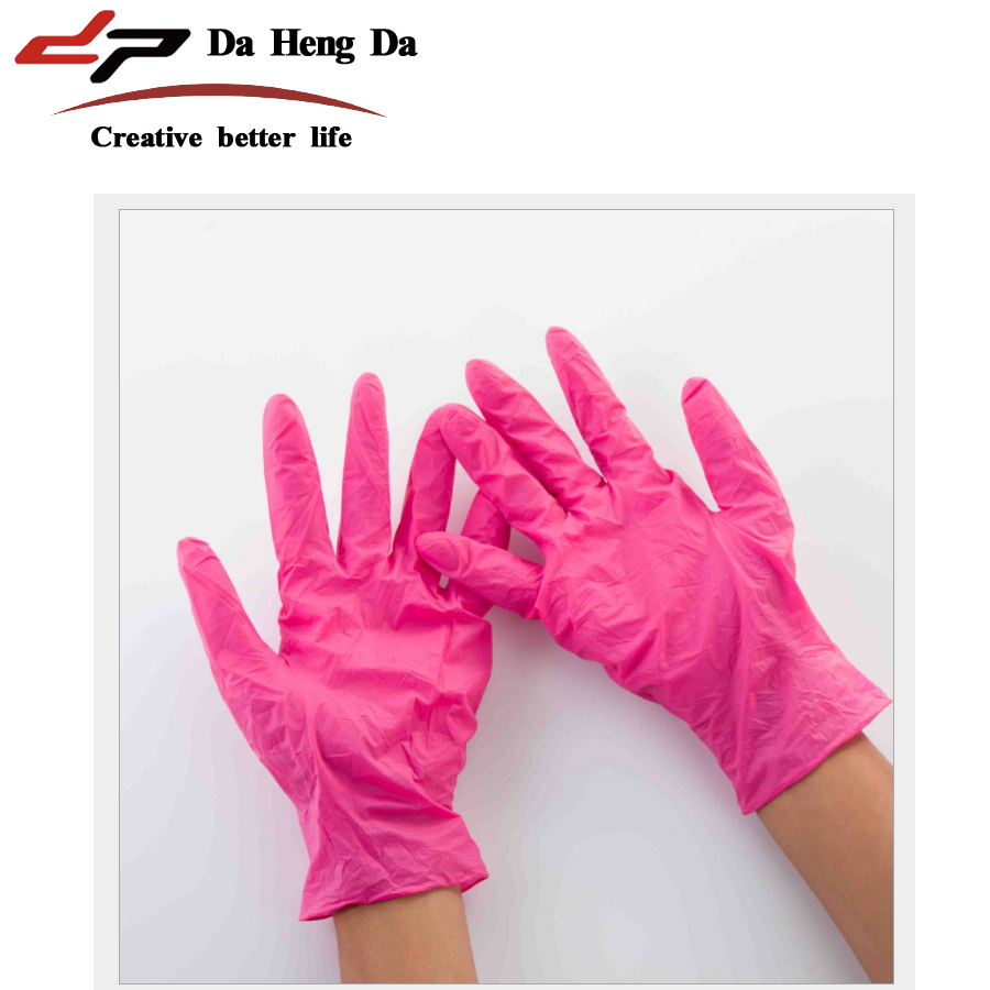Industrial sterile surgical hand rubber <strong>gloves</strong> Disposable red nitrile <strong>gloves</strong>