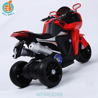 WDME6288 Good Quality Kids 4 Wheels Ride On Children Electric Car With Radio