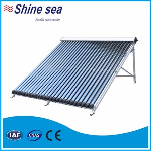 Professional factory copper core heat pipe evacuated solar collector